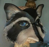 Raccoon mask by faerywhere