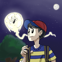 Ness and Buzz-Buzz by Fobby01