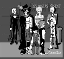 Insomnias Resent Characters by HommicidalPenguinsCo