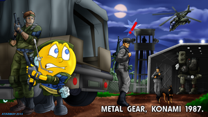 Pacman Fanfic - Metal Gear 1987. by Atariboy2600