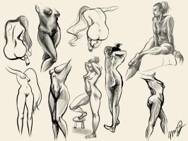 Figure study by LunarPacifier