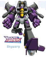 Transformers Skywarp by ninjha
