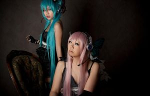 VOCALOID. magnet no youni by strawdoll