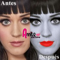 Make Up Katy Perry by Annuchi-Editions