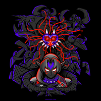 Masked Evil [T-shirt] by Versiris