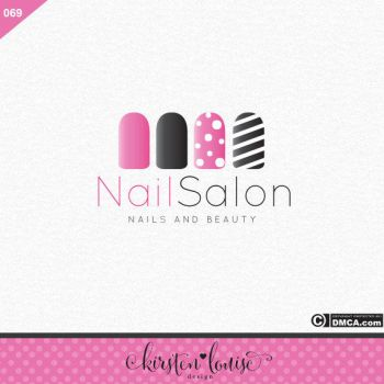 Nail Art Logo Design by KirstenLouiseArt