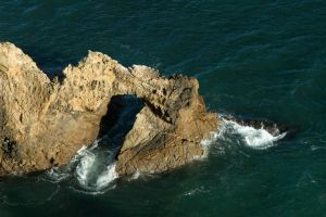 Point Reyes National Seashore - water tunnel GIF by M-Lewis