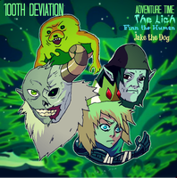 The Lich-Finn the Human-Jake the Dog by 5ifty