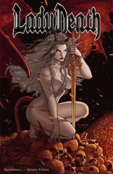 Lady Death: Retribution #1 - Demon Edition by Ric1975
