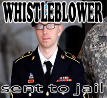 Whistleblowers go to jail by FlipswitchMANDERING
