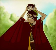HP: Harry and James by Loleia