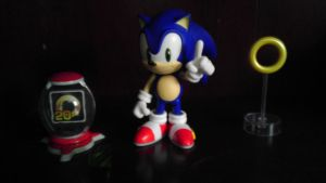 Sonic Nendroid by spaceman022