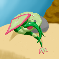 Flygon contest: Rest by HoneyShuckle