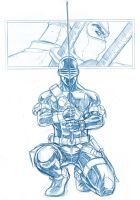SNAKEEYES SKETCH by deemonproductions