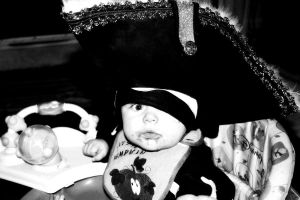 Pirate baby by moonmagicstudios