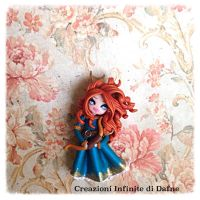 #ribelle #disney #handmade #clay by AngelaDafne
