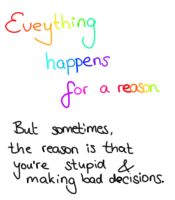 Everything happens for a reason? (Day 312) by Hedwigs-art