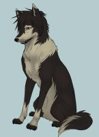 Drrr: Izaya Dog by Nascimur