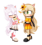 AT : Odette and Etya by Violet-Tarita