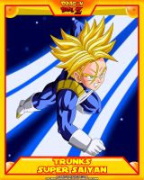 DBZ-Trunks SSJ V3 by el-maky-z