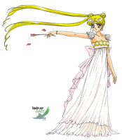 Sailor Moon - Princesse Serenity Render by anouet