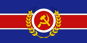 Communist Britain - flag by Neethis