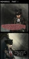 Bloodborne. Gehrman and Maria. memories p.1 by Wingless-sselgniW