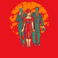 The Walking Mad Men by RjohnArt