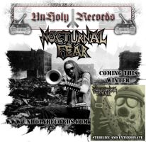 Nocturnal Fear Flyer by hellcitychris