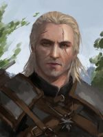 Geralt by GraceZhu