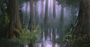 swamp by freelancerart