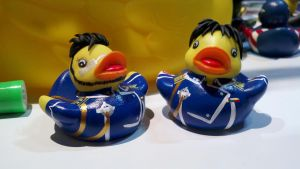 Maes Hughes and Roy Mustang Ducks by spongekitty