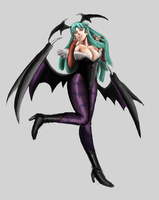 Morrigan by Horoko