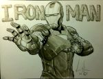 Iron Man by Dreamerwstcoast
