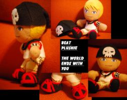 Beat Plushie by sizzing