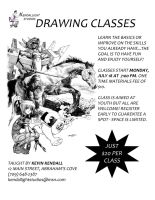 Drawing Class Flyer by KendallightStudios