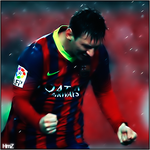 Messi by zeemessi