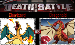 Charizard vs Dragonoid by SonicPal