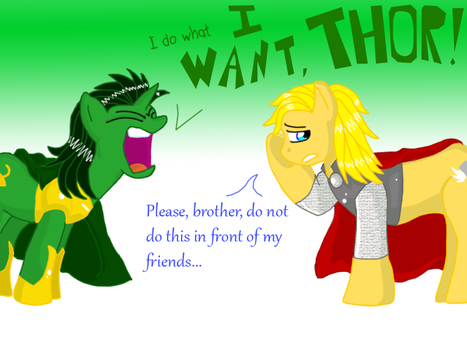 I Do What I Want, Thor by dkcinc