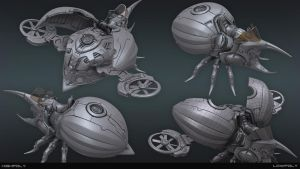 Technical Bug Deviant by jips3d