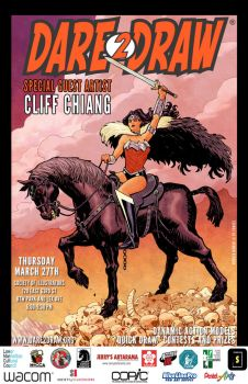 Dare2Draw with Cliff Chiang March27 by Dare2Draw