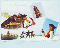 Pirates of the Caribbean Wallpaper by sundaymorning666