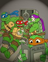TMNT: Invasion Of The Squirrelanoids by xero87