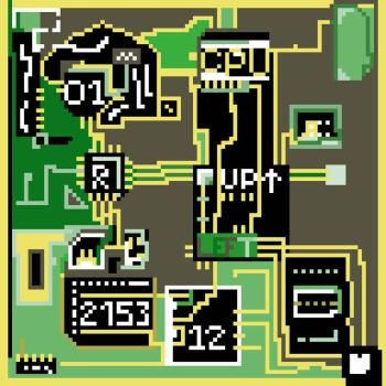 Circuit Board by DragonCall15