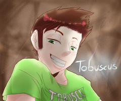 Tobuscus - Mini Minotaur by blueeyewarrior180