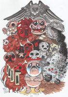 The Binding of Isaac by DarkPoinko