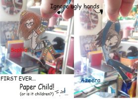 FIRST EVER Paper Things by AzeeraTheNinja