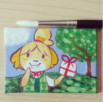 Isabelle Mini Canvas by ditto9