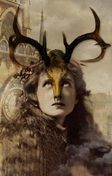 Horned Woman by hogret