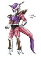 Freeza - 1st Form by TimothyJamesF
